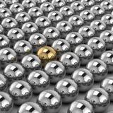 Esfera do ouro Fotografia de Stock Royalty Free