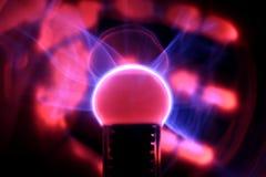 Esfera do plasma Fotos de Stock Royalty Free