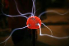 Esfera do plasma foto de stock