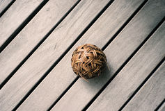 Esfera do Rattan Imagem de Stock Royalty Free