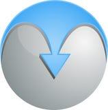 esfera do vetor 3D Imagens de Stock