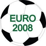 Esfera do vetor do futebol Imagem de Stock Royalty Free