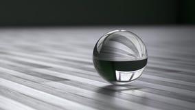 esfera do vidro 3D Fotos de Stock Royalty Free