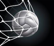 A esfera do voleibol ajustou 3 Imagens de Stock