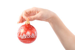 esfera do xmas fotografia de stock royalty free