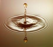 Esfera dourada foto de stock royalty free