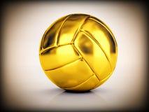 Esfera dourada da salva Fotos de Stock Royalty Free