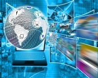 Esfera e imagens Imagem de Stock