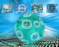 Esfera e imagens Imagens de Stock Royalty Free
