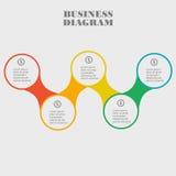 Esfera económica en diseño plano Disposición para sus opciones o pasos Fotografía de archivo