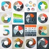 Esfera económica infographic, diagrama con opciones libre illustration