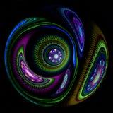 Esfera fraturada Imagens de Stock