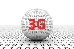 esfera 3G conceptual Imagem de Stock