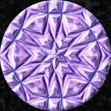 Esfera jewelled vidro com teste padrão de estrelas Imagem de Stock Royalty Free