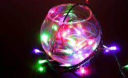 Esfera mágica do Natal Fotografia de Stock