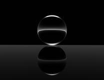 Esfera mínima ilustração stock