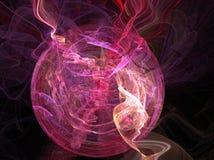 Esfera púrpura stock de ilustración