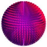 Esfera púrpura Imágenes de archivo libres de regalías