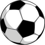 Esfera para jogar o futebol Fotos de Stock