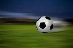 Esfera rápida em um estádio Imagem de Stock