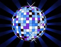 Esfera retro do disco Imagem de Stock Royalty Free