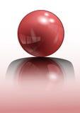 Esfera roja Imagenes de archivo