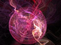 Esfera roxa Fotos de Stock Royalty Free
