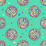 Esfera sem emenda do disco do teste padrão Imagem de Stock Royalty Free