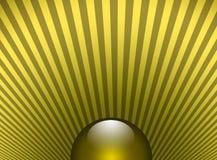 Esfera Shinning ensolarada ilustração stock
