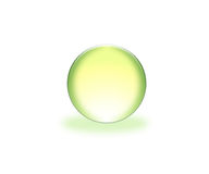 esfera verde 3d libre illustration
