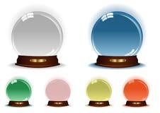 Esferas ilustração do vetor