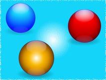 Esferas ilustração stock