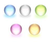 esferas 3d Foto de archivo