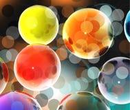 esferas 3D Imagen de archivo