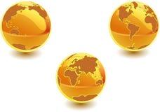 esferas 3d Imagens de Stock Royalty Free