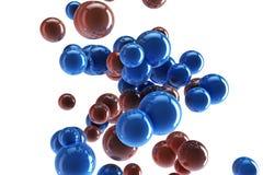 Esferas abstractas Foto de archivo libre de regalías