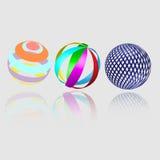 Esferas abstractas de la geometría Foto de archivo