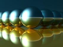 Esferas abstratas Foto de Stock