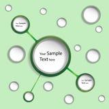 Esferas abstratas Imagens de Stock