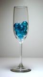 Esferas azuis Imagem de Stock