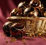Esferas bonitas do Natal Imagem de Stock