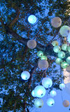 Esferas claras Imagem de Stock Royalty Free