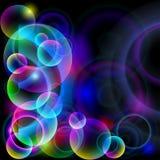 Esferas coloridas. ilustración del vector