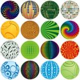 Esferas coloridas Fotografia de Stock