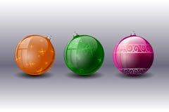 Esferas coloridas Ilustração Royalty Free