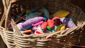Esferas coloridas da linha Imagem de Stock Royalty Free