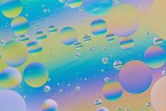 Esferas coloridas de la burbuja Fotos de archivo libres de regalías