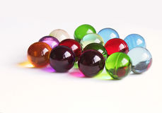 Esferas coloridas do banho Imagem de Stock Royalty Free
