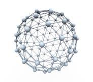 Esferas conectadas Fotos de archivo libres de regalías