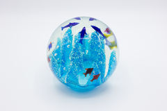 Esferas cristalinas Imágenes de archivo libres de regalías